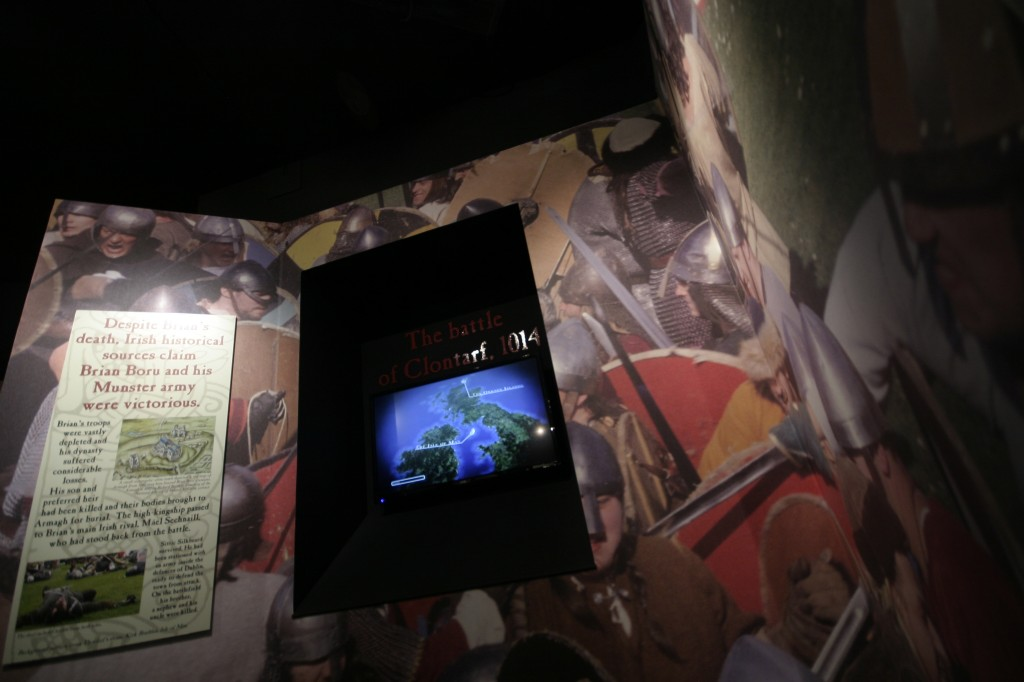 Noho's short historical video outlining the Battle of Clontarf in Dublinia's new exhibition, The Battle for Dublin