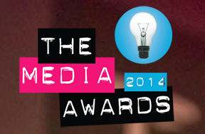Logo for the Media Awards 2014